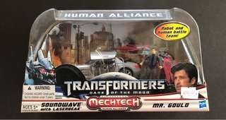 Transformers human alliance soundwave leadfoot skid