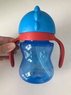 Philips Avent Straw Bottle