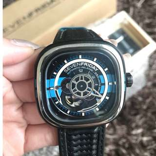 SALE SEVENFRIDAY SEVEN FRIDAY P3-BB BLUE CLONE 1:1