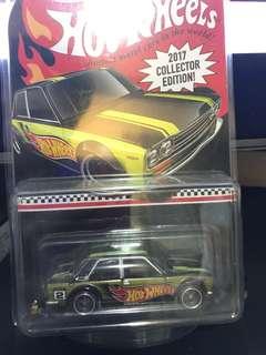 Hotwheels Datsun 510 Collector's Ed 2017