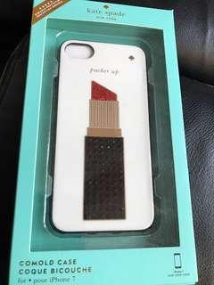 BNIB Kate Spade iPhone 7 cover - jewelled lipstick rrp $79.95