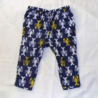 Charity Sale! Authentic Target Baby Girl Lobster Pants Size 12-18 Months