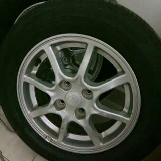 Sportrim with tyre 14 for sell