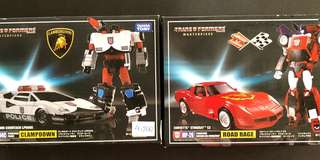 Transformers masterpiece mp road rage and clampdown