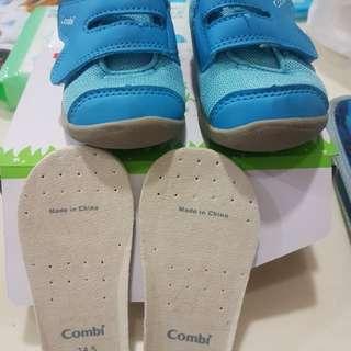 Combi 嬰兒學步鞋(14.5)