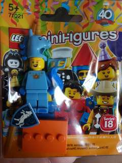 Lego series 18 Blue unicorn knight