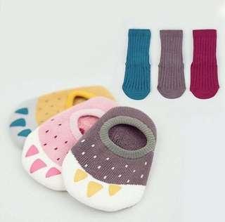 Warm baby bear socks
