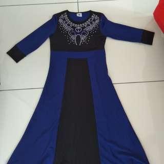 Girls jubah (long dress)