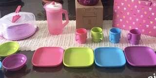 Miniature kids cooking gift set