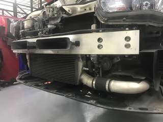 EVO X Stock Intercooler with Piping