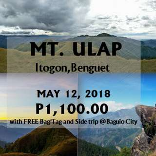 Mt. Ulap 1 Day Hike