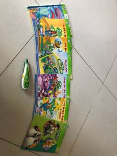 Leap frog story books with tag reader