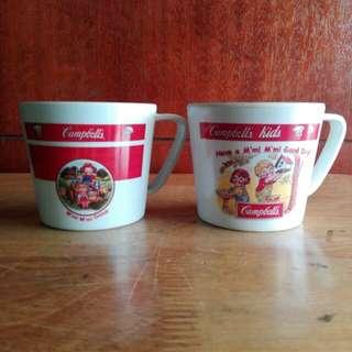 Campbells Melamine Cups