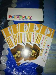 5 Tickets for DreamPlay Weekend Pass
