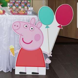 Peppa Pig Standee for Parties