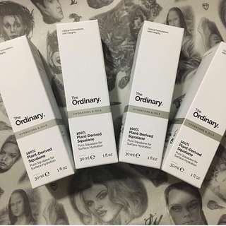 [現貨]The Ordinary 100% Plant-Derived Squalane