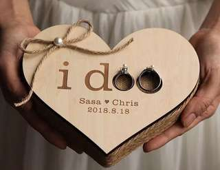 Wedding/Solemnisation Ring Box