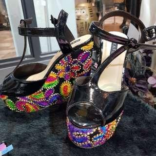 Rainbow shoe