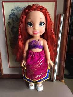 "15"" Disney Ariel Toddler Doll"