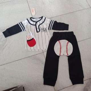 Set baby baseball