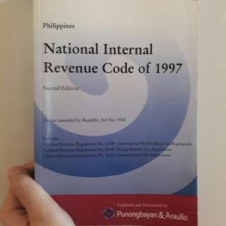 National Internal Revenue Code of 1997