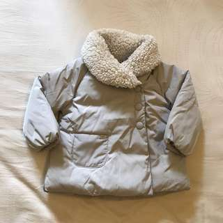 Zara baby girl winter jacket