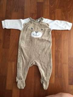 Preloved baby bear rompers