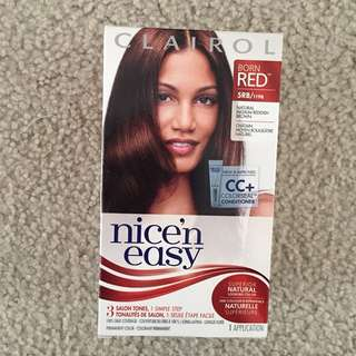 BNIB clairol hair color red