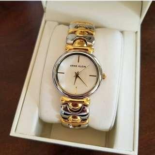 Anne Klein Women's Two Tone Bracelet Watch 35mm