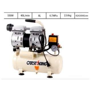 Brand new! 8 Litre Price $149.99  ( pls ignore bump price) Air compressor carpenter carpentry wood work nail nailer gun