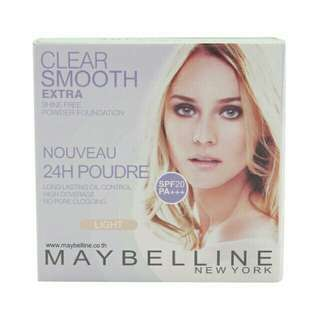 Maybelline clear smooth powde4 foundation