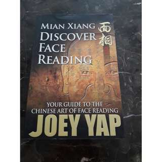 "JOEY YAP  "" Discover Face Reading "" New book"