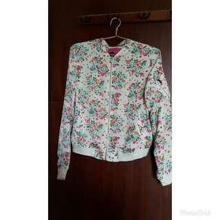 Bershka Flowery Jacket