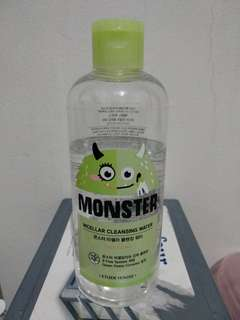 Etude house monster micellar water