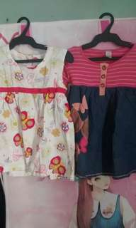 Buy 1 Get 1 Butterfly Dresses For Kids