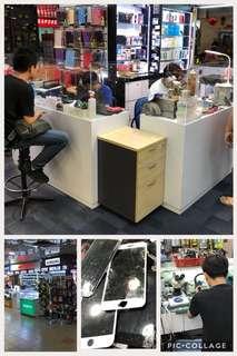 Phone repair , iphone repair, cracked LCD