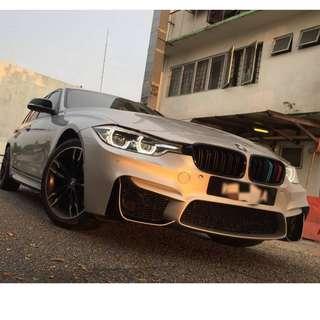 BMW F30 M3 Bodykit Bumper Set