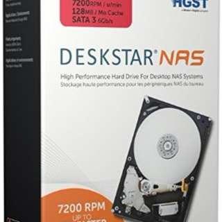 《SUNLINK》代理商三年保固 HGST 6TB NAS專用 7200轉 H3IKNAS600012872SWW
