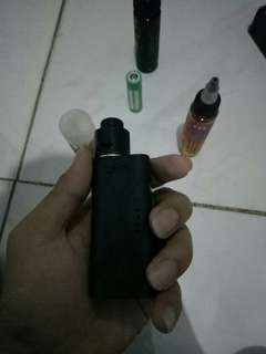 paket ngebul Vape second bonus liquid