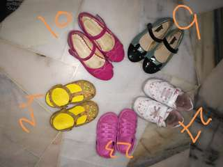 Baby girl Shoes all in 60 rm