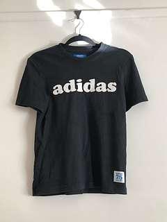 Adidas logo tee shirt top