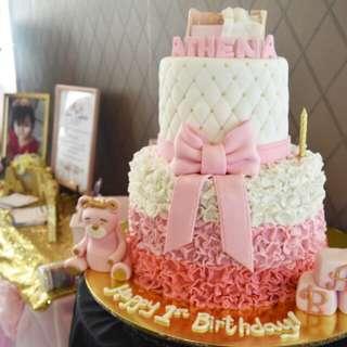 Baptismal cake