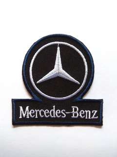 Mercedes Benz Logo Car Sports Racing Iron On Patch