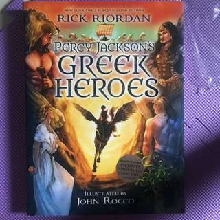 Percy Jackson Greek Heroes Illustrated