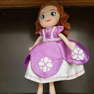 Orig sofia the first doll