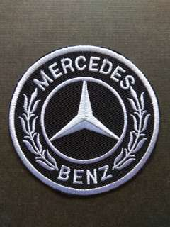 Mercedes Benz Logo Car Racing Sports Iron On Patch