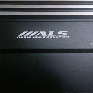 ALS 4 CHANNEL AMPLIFIER