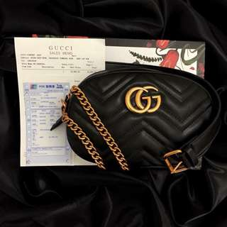 Gucci belt/sling bag