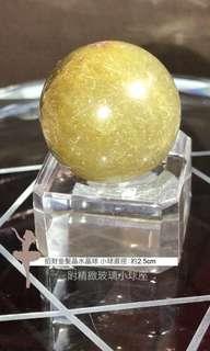 小金髮水晶球