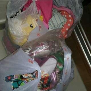 Exchange girl bundle clothes